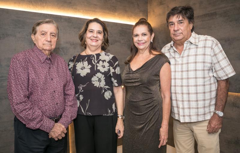 Josue e Branca de Castro, Rose e Elizeu Batista