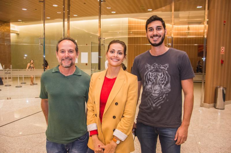 Sebastiao Arruda, Denise Gomes e Pedro Melo