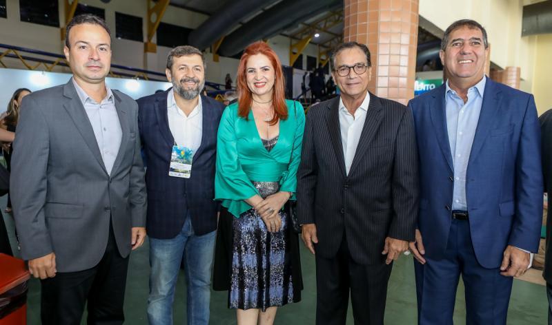 Danilo Serpa, Elcio Batista, Enide Camara, Beto Studart e Luis Gastao Bitencourt