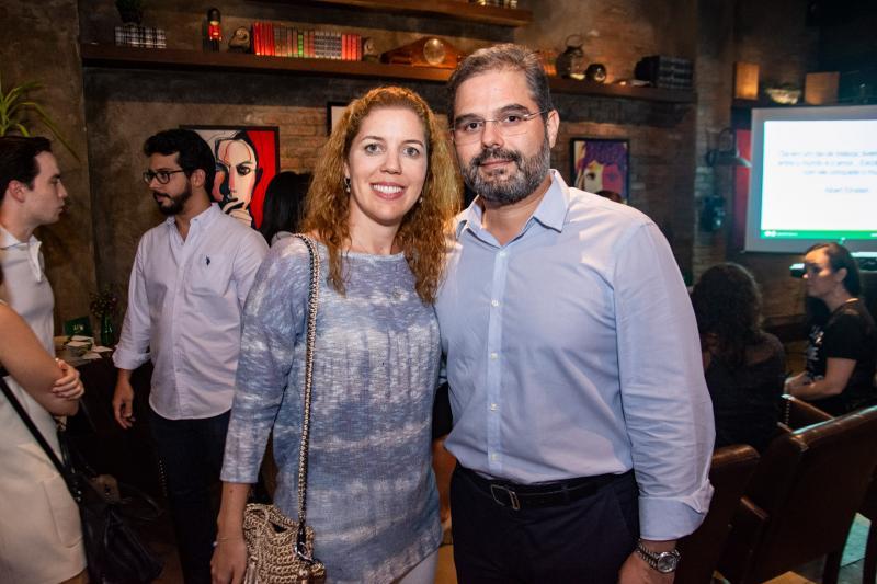 Ticiana Rolim Queiroz e Edson Queiroz