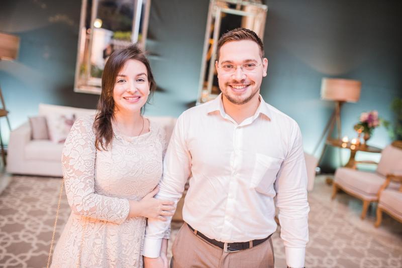 Laura Elery e Matheus Feitosa