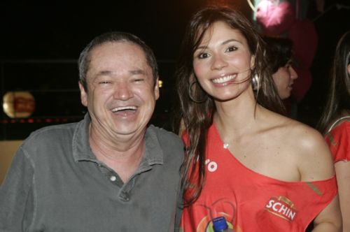 Babao e Renata Pontes