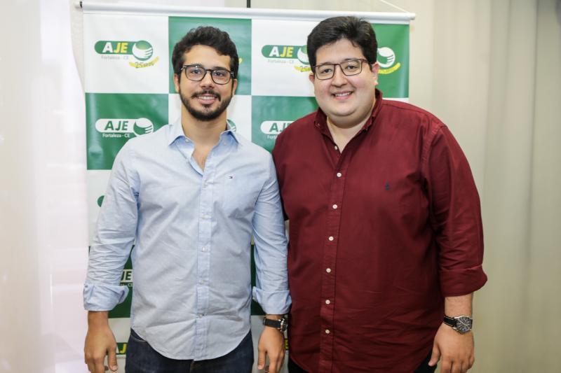Rafael Fujita e Yuri Torquato