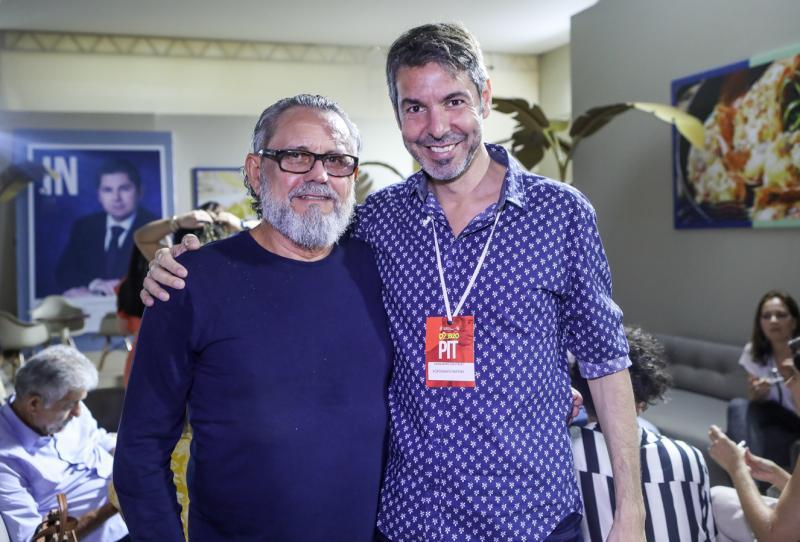 Lucio Albuquerque e Emiliano Castelo