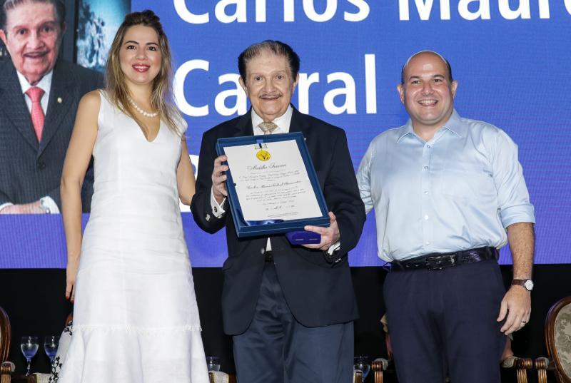 Onelia Leite, Mauro Benevides e Roberto Claudio