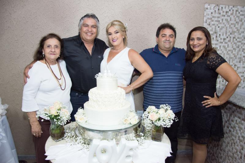 Rita Celia Montenegro, LC e Adriana Moreira, Alirio Oliveira e Edna Santana