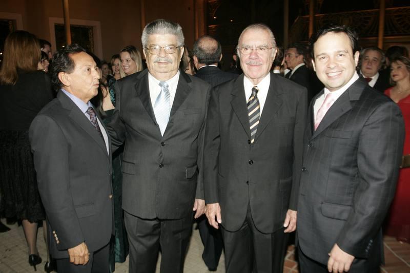 Fernando Cesar, Lustosa da Costa, Jose Sarney e Igor Queiroz