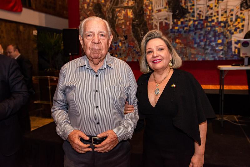 Paulo Carapeba e Fernanda Carapeba Jensen
