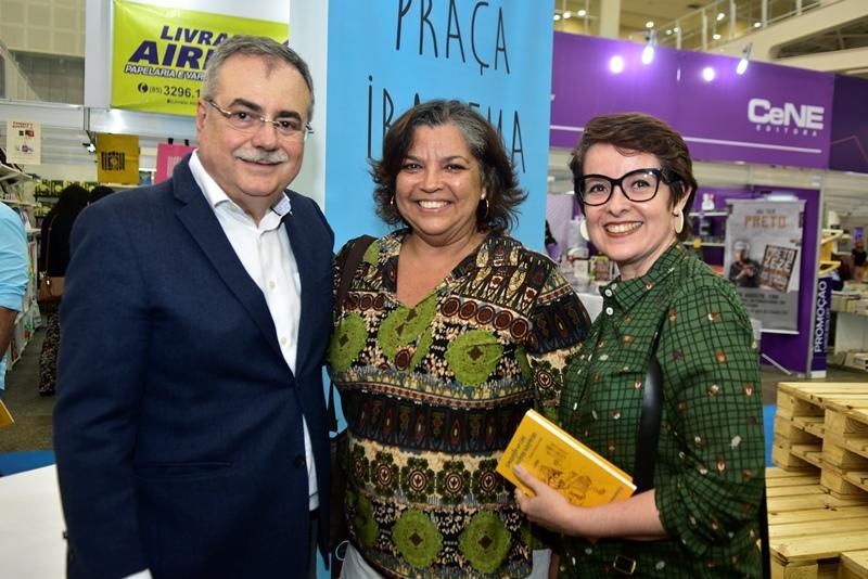 Assis Cavalcante, Cristina Quaranta, Claudia Andrade