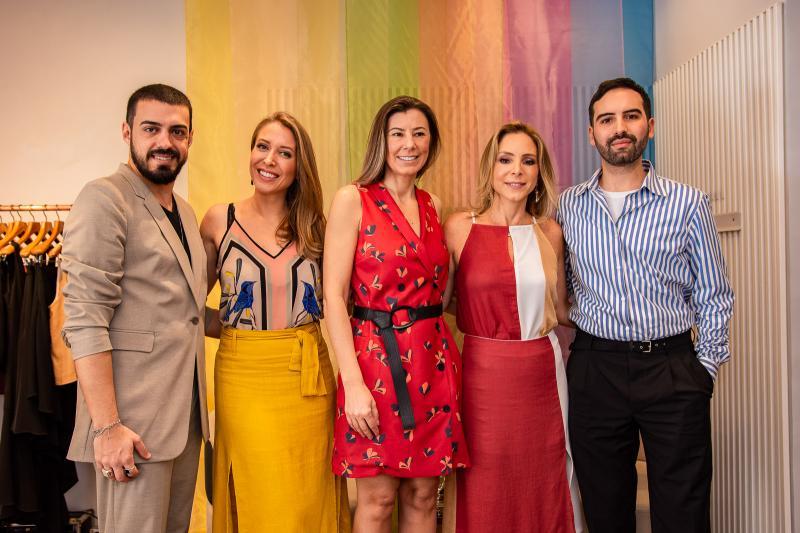 Romario Brandao, Gabriela Branco, Carla Nogara, Ana Paula Daud e Andre Boffano