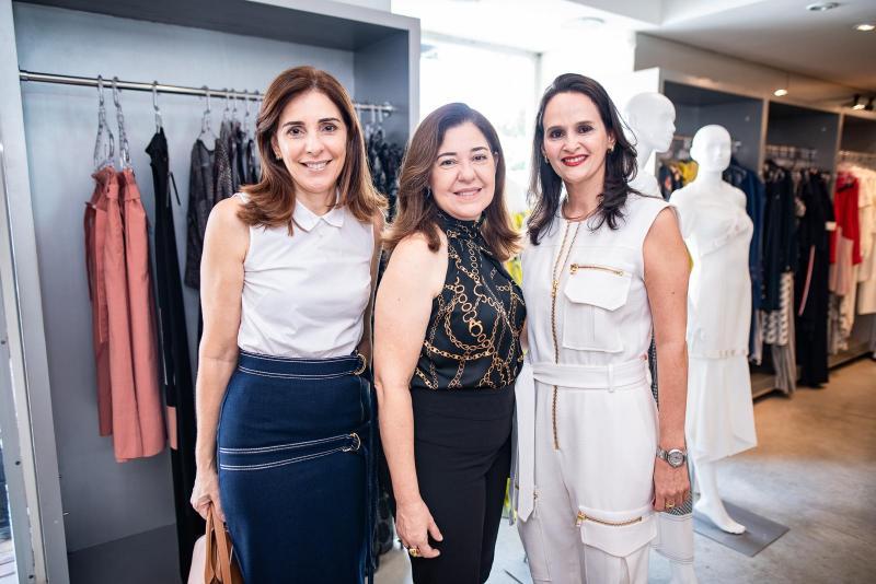 Cristiana Ysleiman, Denise Moraes e Adriana Miranda