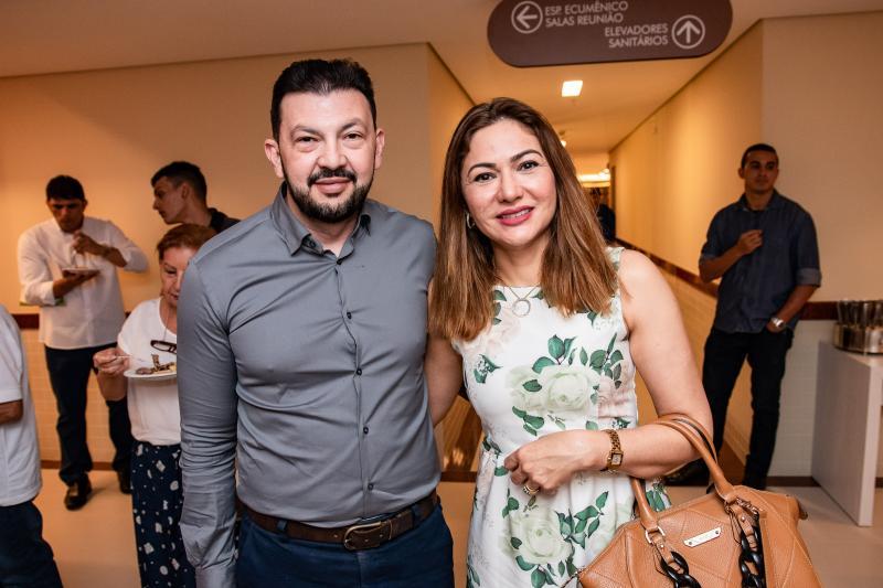 Edmilson e Fatima Bastos