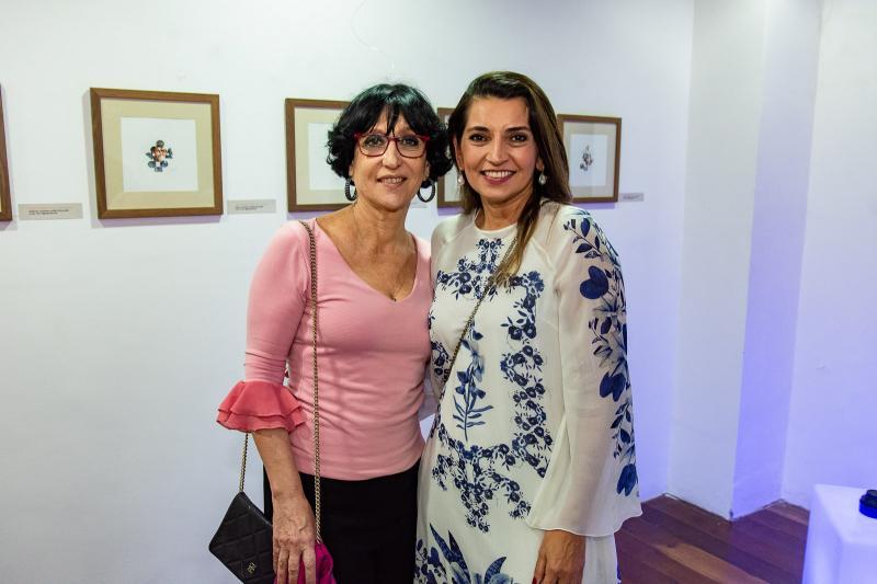 Denise Matta e Marcia Travessoni