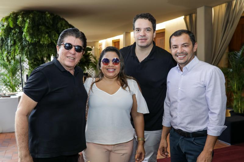 Dito Machado, Brenda Farias, Thiago Holanda e Ed Lucio