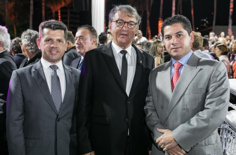 Erick Vasconcelos, Arialdo Pinho e Pompeu Vasconcelos