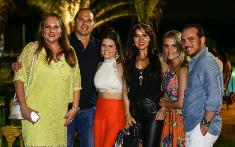 Luisiane Cavalcante, Freitas Junior, Zilda Pessoa, Leticia Studart,  Leticia Studart e Wilfred Pessoa