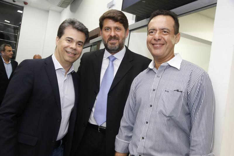 Duda Brigido, Rafael Rodrigues e Demetrio Andrade