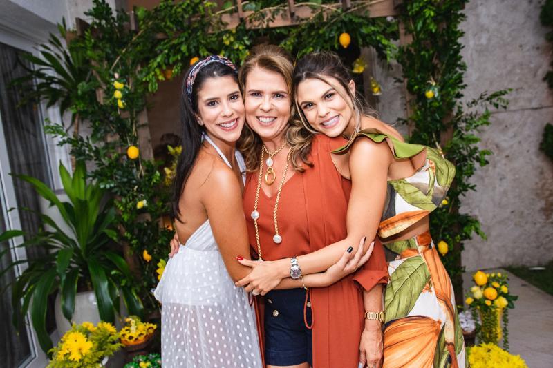 Marcella, Alexandra e Mariana Pinto