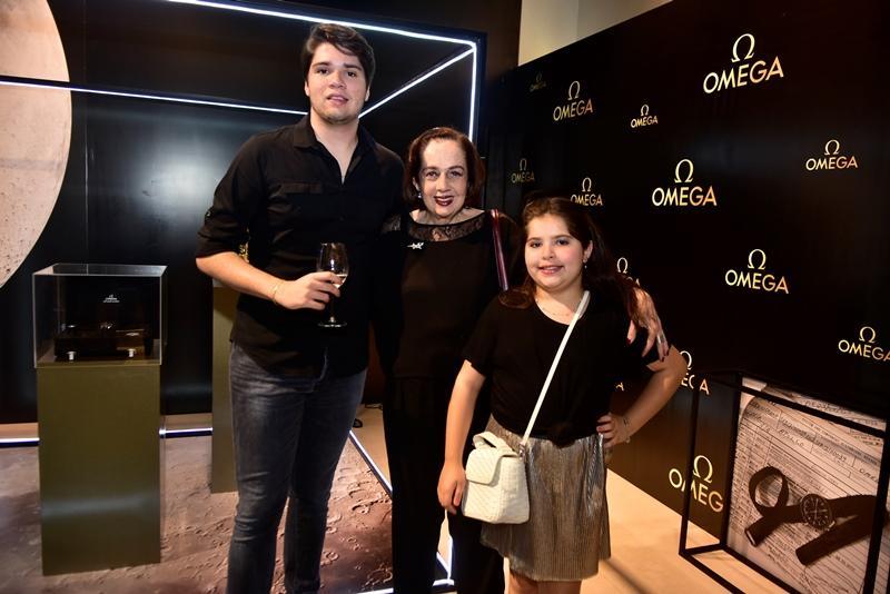 David, Tania e Gabriela Leitao