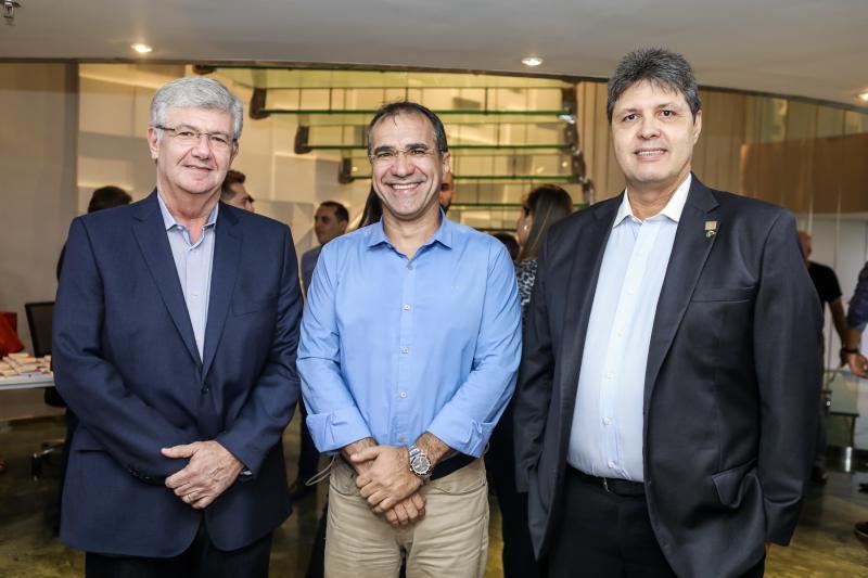 Carlos Maia, Eduardo Neves e Marcos Oliveira