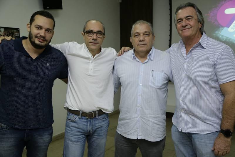 Filipe Celedonio, Betinho e Waldo Santos e Quintino Feitosa