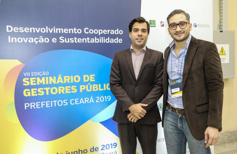 Felipe Timbo e Walfrido Salmito