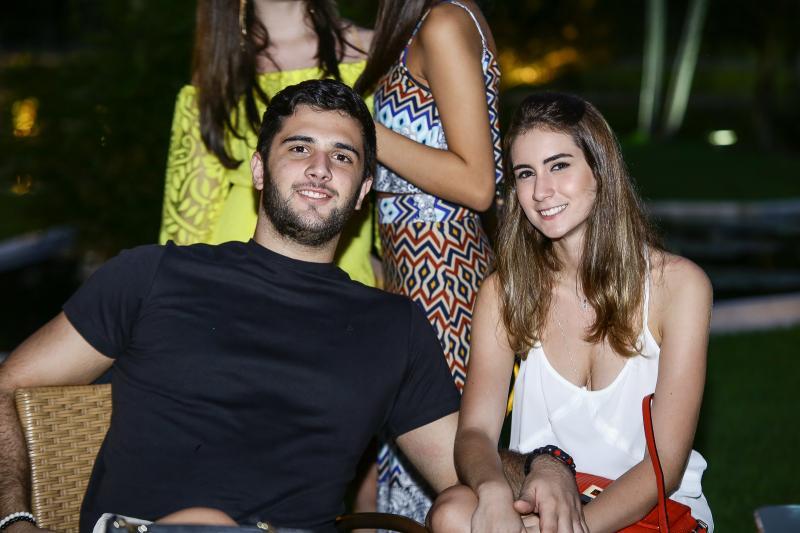 Bruno Marques e Vivian Cavalcante