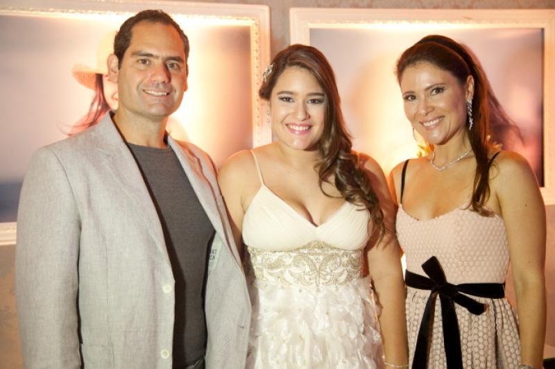 Tarso, Amanda e Ana Cristina Melo