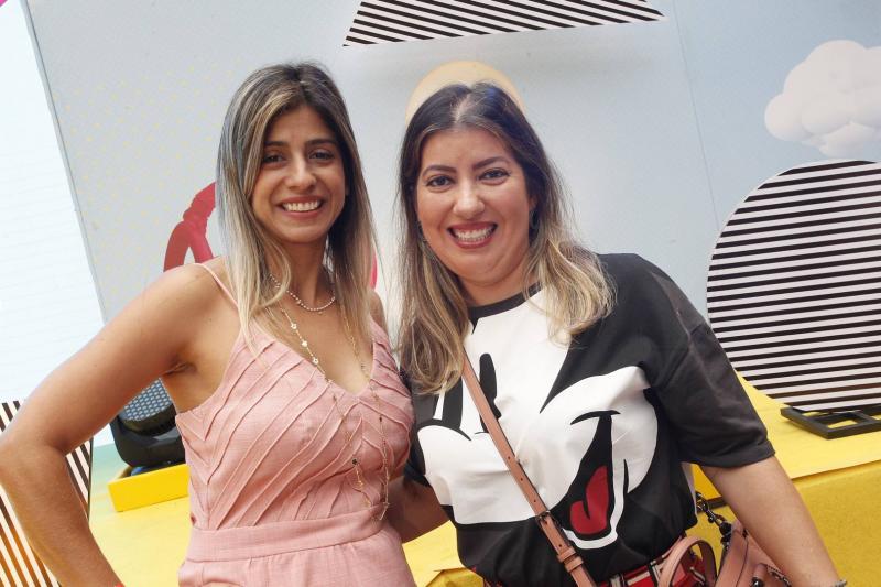 Monica Freitas e Daniele Militao