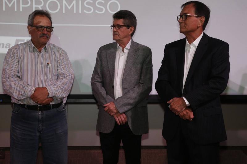 Emilio Moraes, Augostinho Alcantara e Beto Studart