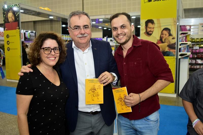 Sonia Lage, Assis Cavalcante, Leandro Junior