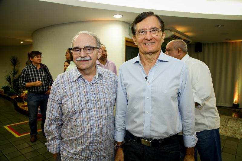 Edinilton Soarez e Helio Perdigão