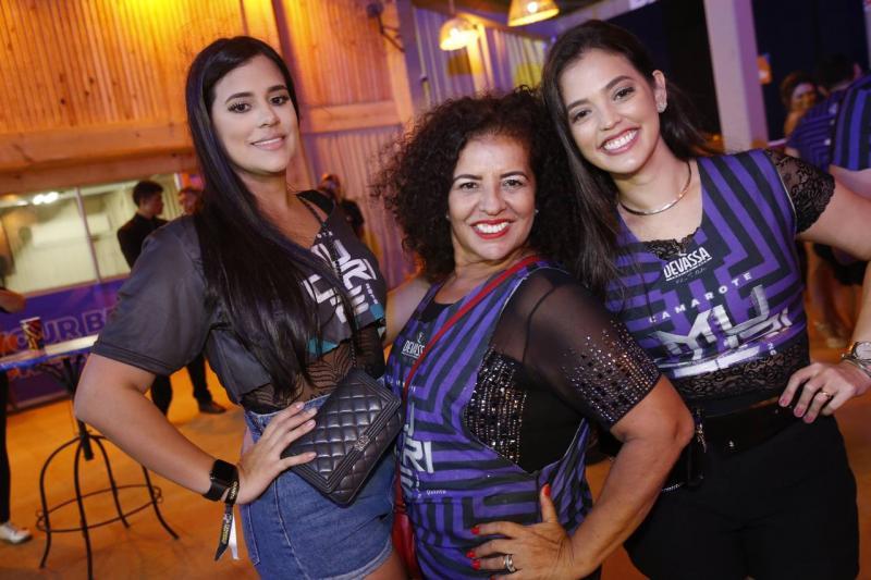 Ana Marcia, Ana Campos e Ticiana Bassi