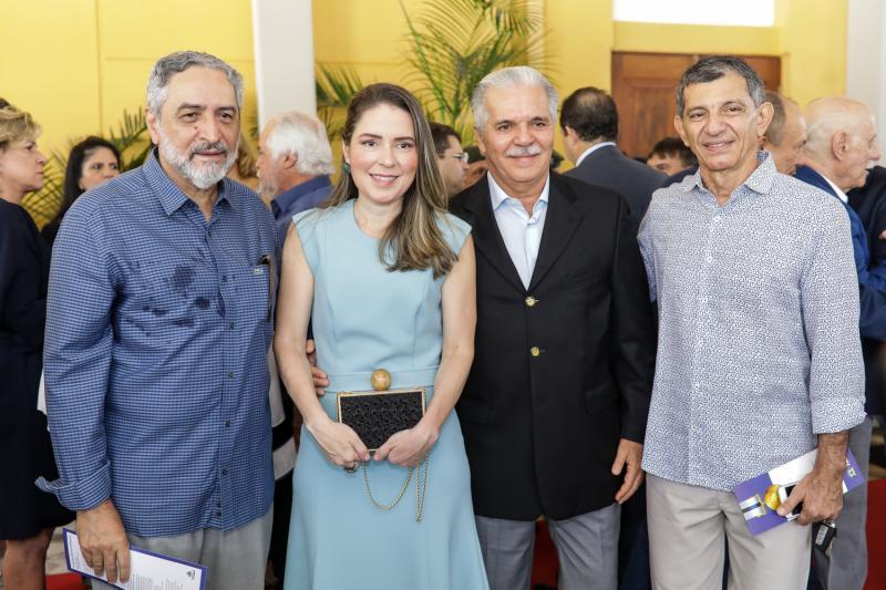 Osvaldo Sousa, Agueda Muniz, Pio Rodrigues e Francisco Hissa