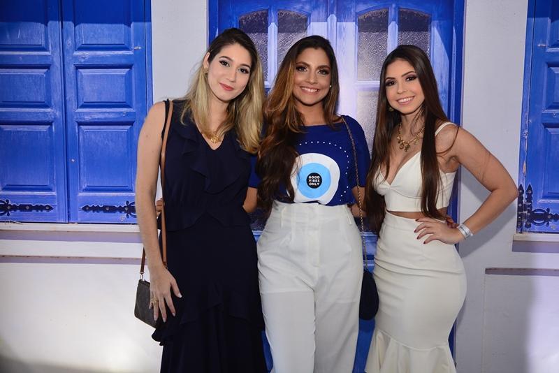 Cecilia Albuquerque, Livia Cabral e Fernanda Carvalho