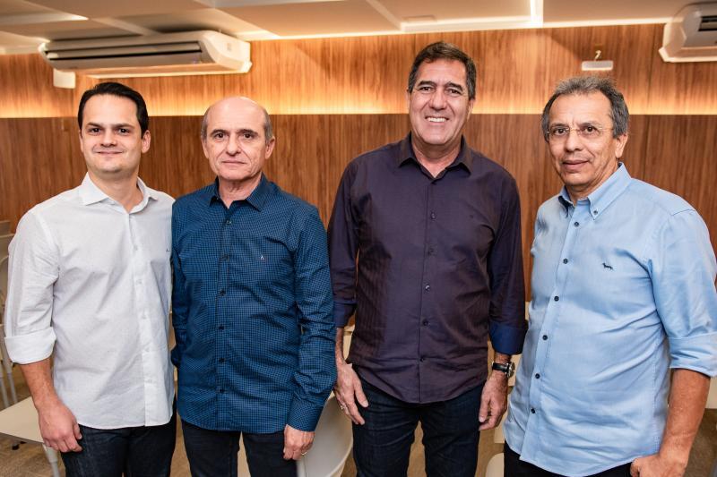 Bruno Linhares, Jaime de Paula Pessoa, Luiz Gastao Bittencourt e Eduardo Rolim