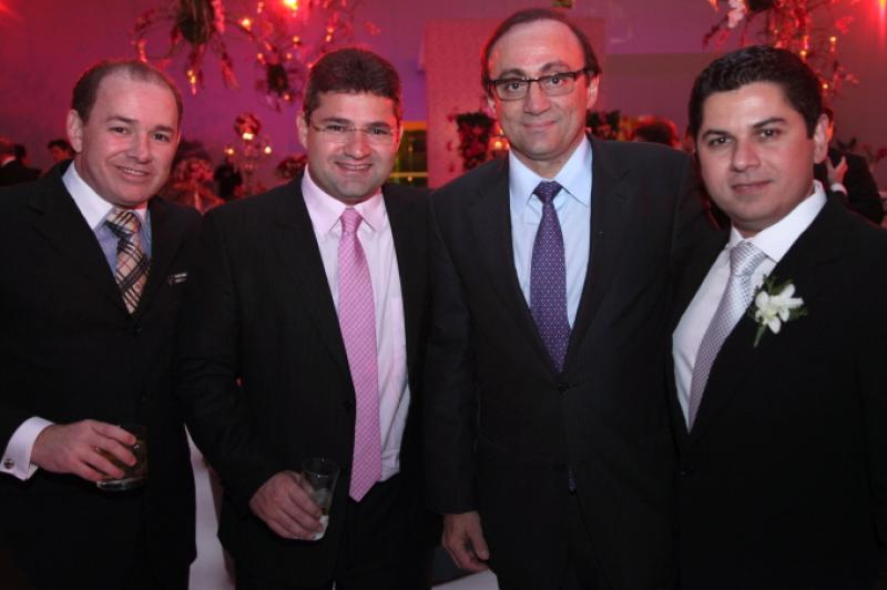 Ricardo Bezerra, Mario Queiros, Tim Gomes e Pompeu Vasconcelos