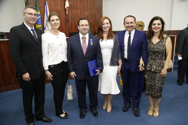 Carlos e Carla Pereira, Igor e Aline Barroso, Max e Rilka Bezerra