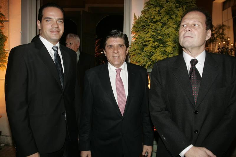 Thiago Holanda, Dito Machado e Julinho Ventura