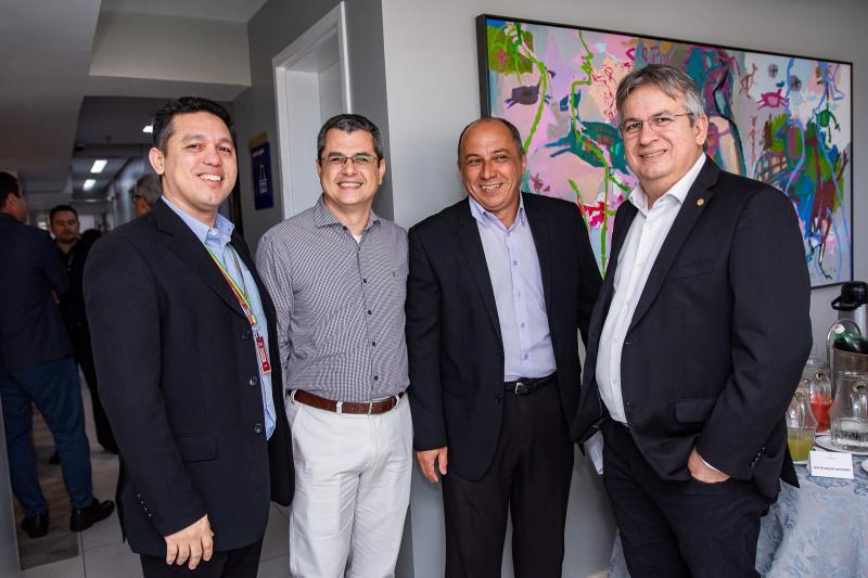 Ronaldo Melo, Rodrigo Araujo, Geraldo Junior e Arthur Valente