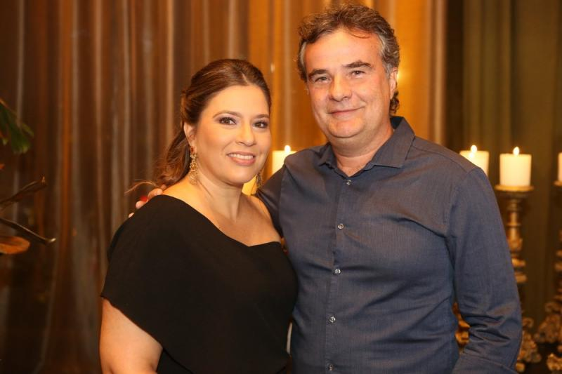 Ana Claudia e Luis Carlos Aguiar
