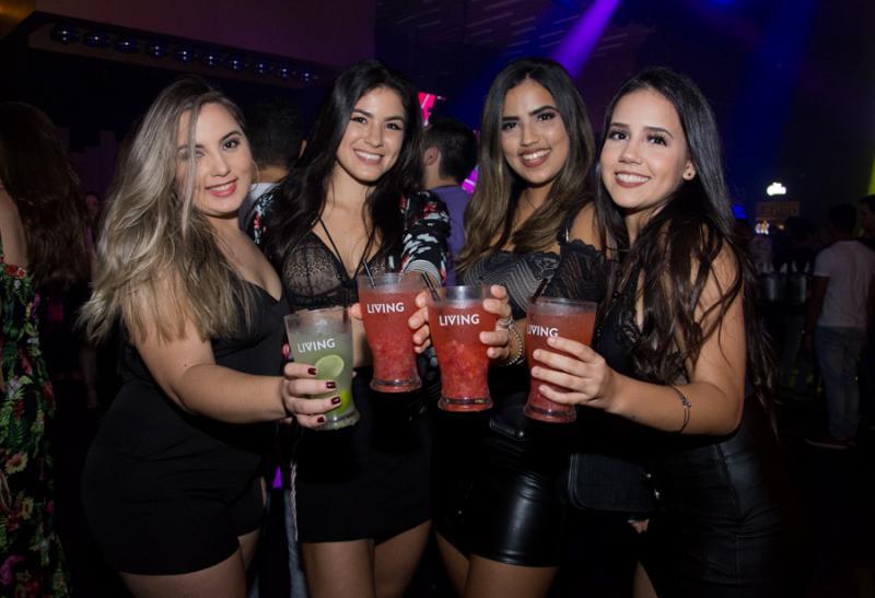 Iara Barro, Samia Ketlei, Bianca Torres e Mirele Torres