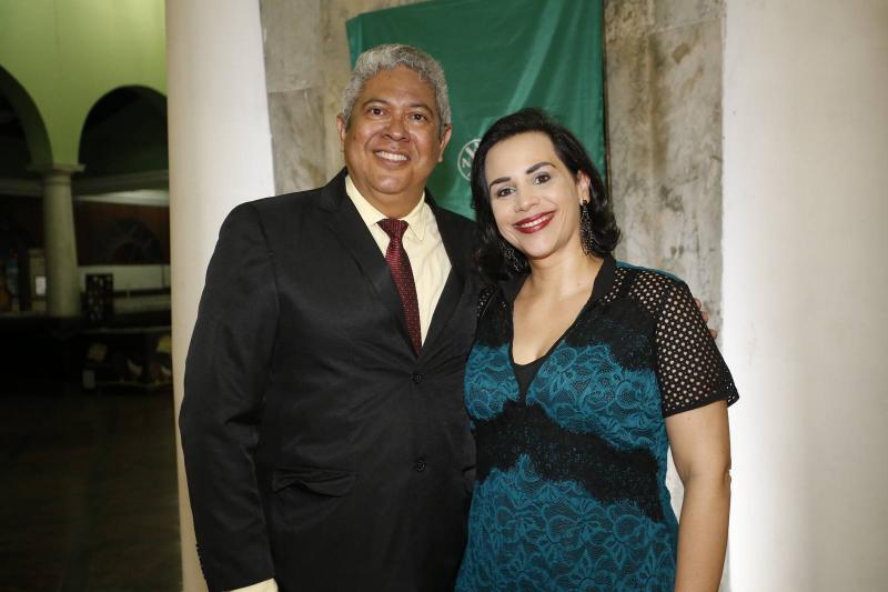 Rene de Barros e Marina Raposo
