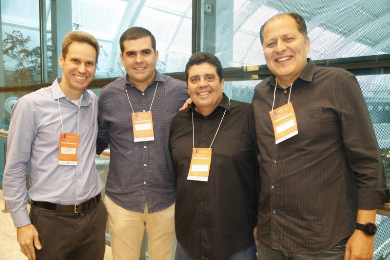 Jorge Dantas, Marcelo Diego, Joaquim Caracas e Lupercio Gurjao