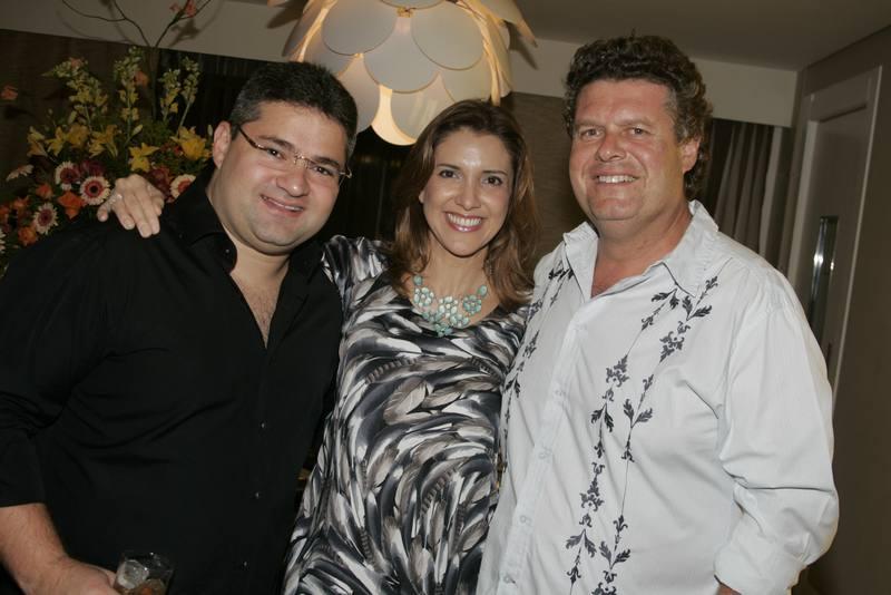 Mario Queiros, Eliziane e Evandro Colares