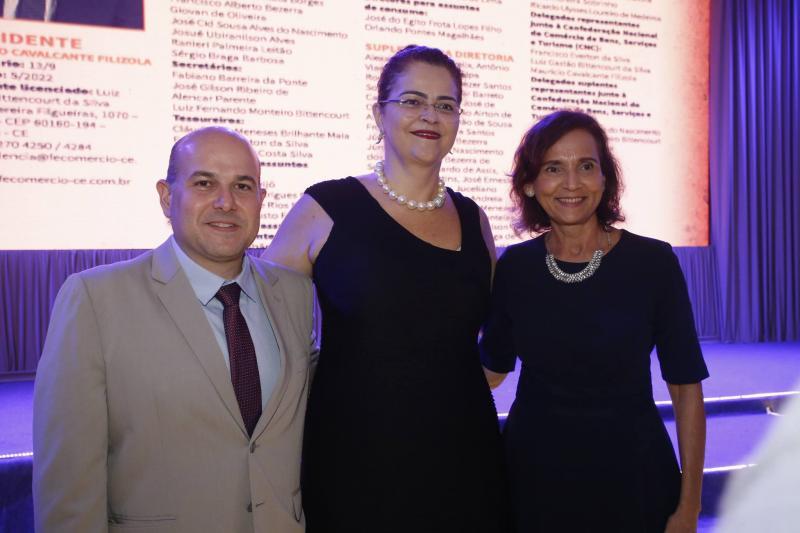 Roberto Claudio, Luciana Dummar e Izolda Cela
