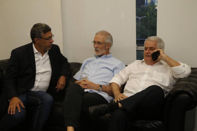 Ricardo Petral, Dinalvo Diniz e Jose Antunes