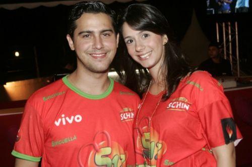 Paulo Eduardo e Sarah Pontes