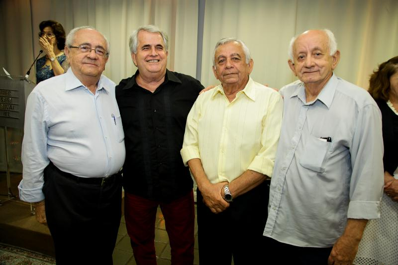Eduardo Bezerra, Antunes Mota, Marcelo Targino e Itamar Pereira