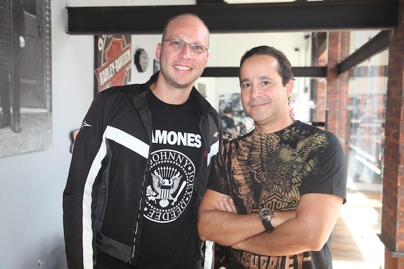 Carlos Roveder e Marcelo Melo